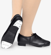 NEW//BOX CAPEZIO CG17 Caramel Tap Shoes Teltone Taps attched Child//ladies szs