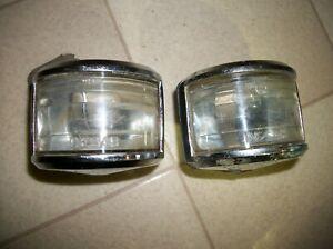 Mopar 53 Plymouth 50-54 Dodge & 50-51 DeSoto Back Up Lights - Lot of 2