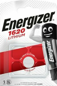 1x Energizer 1620 CR1620 3V Lithium Coin Cell Battery - DL1620 KCR1620 BR1620