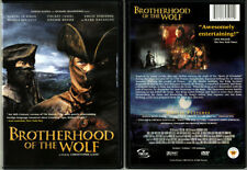 DVD Single Disc BROTHERHOOD OF THE WOLF 2001 Original UNRATED French Cut OOP R1