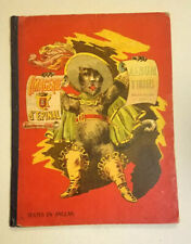 Imagerie d'Epinal Album d'Images RED Cover 1888 Victorian Age Comic G/Very Good