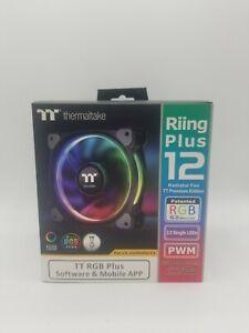 Thermaltake 120mm RGB, LED, Riing, Radiator Fan TT Prem. Ed. (Plus 12)