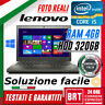 "PC NOTEBOOK LENOVO THINKPAD X240 12.5"" CPU i5 4GB RAM HDD 320GB +KEY WIN 10 PRO!"