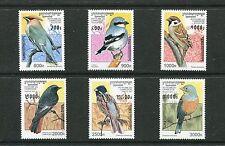 CAMBODIA 1598-1603 (6), 1997 BIRDS,  MNH (CAM003)