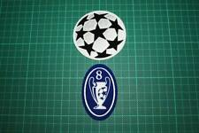 UEFA CHAMPIONS LEAGUE and 8 TIMES TROPHY BADGES 2001-2002