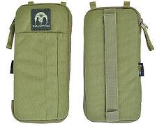 Phantom 1000D Multi-functional Wallet Card Pouch w/Zipper Tan
