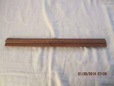 "Vintage Wooden 15"" School Ruler Signed Bryant & Stratton School Boston, Mass"