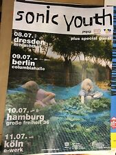 ORIGINALE 2002 Sonic Youth MURRAY STREET TOUR POSTER TOUR POSTER Berlino