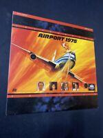Airport 1975 - LaserDisc LD - Karen Black - Letterboxed Edition - V/G