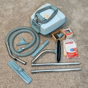 Eureka Princess Model 705 Vacuum Cleaner w/ Attachments Bags Extension - vintage