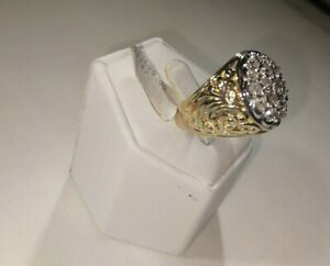 MENS 1 3/4 CT. DIAMOND KENTUCKY CLUSTER.....AWESOME