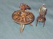 Arredamento sedie per case di bambole e miniature