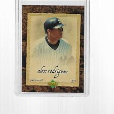 2008 UD ARTIFACTS BASEBALL ALEX RODRIGUEZ (GREATEST PLAYER OF ALL TIME) #22