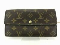 Louis Vuitton Monogram Pochette Portomone Credit M61725 Long Wallet 56514126