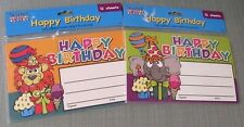 Happy Birthday Celebration Certificates 2 x 12= 24 Teacher Classroom Supplies