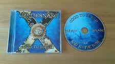 Whitesnake Good To Be Bad 2008 German CD Album SPV98132CD Classic Hard Rock