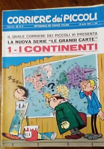 Corriere dei Piccoli anni 1968, 1970, 1971 ultimi 71 numeri, in blocco; usati.