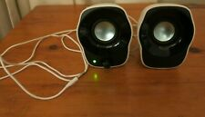 Logitech Compact Computer Stereo Speakers Z120 USB Powered Speakers White