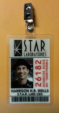 Flash/Arrow ID Badge -S.T.A.R.Labs H.R. Harrison Wells  prop cosplay