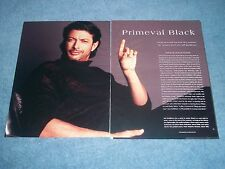 Actor and Model Jeff Goldblum Fashion Pictorial Clippings