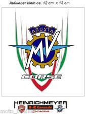 MV AGUSTA Autocollant f4 BRUTALE MV-Corse Logo 12 cm