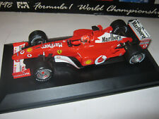 1:18 Ferrari F2002 M. Schumacher 2002 rebuilt Full tabacco in showcase TOP