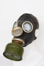 GAS MASK GP-5M black Mask with filter Genuine Vintage Soviet Russian Original