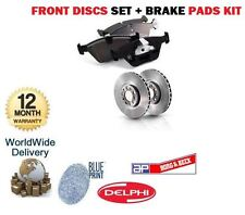 FOR CHEVROLET  AVEO KALOS 1.2i 1.4i 2005-> FRONT BRAKE DISCS SET + DISC PADS KIT