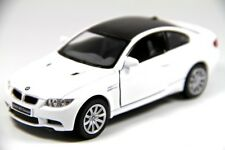 "Brand New 5"" Kinsmart BMW M3 Coupe E92 Diecast Model Toy Car 2 Door 1:36 WHITE"