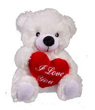 Plüsch Bär mit rotem Herz 22cm Kinder Spielzeug Kuscheltier Plüschtier
