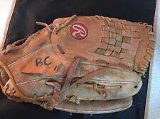 "RAWLINGS RSGXL Leather Softball Glove, RHT, 14"""