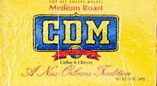 CDM Coffee & Chicory, Medium Roast, 13oz bags (4 Pack)