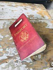 Passeport de Indiana Jones - REPLICA