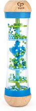Hape Regenmacher   Mini-Rassel aus Holz Regenmacher-Spielzeug, Blau