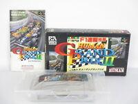 Human GRAND PRIX II 2 Ref/C Super Famicom Nintendo Japan Game sf