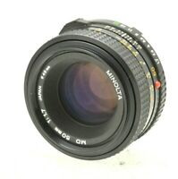 Minolta MD Rokkor 50mm 1:1.7 Lens fits X700 X500 XD5 XD7 XG-M XG-9 camera etc