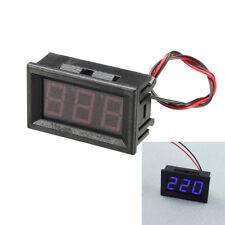 5Pcs 0.56 Inch Blue AC70-500V Mini Digital Voltmeter Voltage Panel Meter AC Volt