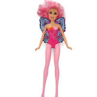 Mattel Barbie fairy butterfly wings pink body suit and legs