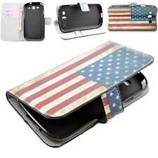 Fold PU Leather Wallet Phone Stand Cover Case For Samsung Galaxy S3 S III i9300