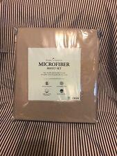 Home Classics Microfiber Sheet Set 3 pcs Gray Twin Brand New Regularly $34.99