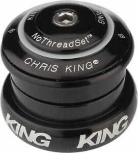 "Chris King InSet 8 Headset, 1-1/8-1-1/4"" 44mm Black"