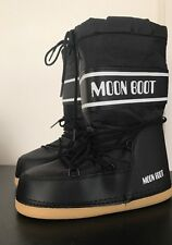 NEW Original Tecnica Nylon Moon Boot BLACK EU Size 39/40 Unisex
