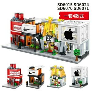 4pk Sembo Building Block Brand *MELBOURNE STOCK* Little Store Miniature Shop