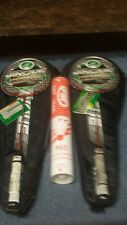 Badmitton rackets Double Fish Jinque GY4805 A Pair NWT And FBT Shuttlecocks New