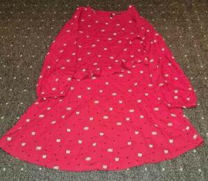 Kleid ° Langarmkleid ° Langarm Kleid ° Sweatshirtkleid ° Next ° Katze ° Gr. 140