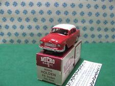 Vintage  Micro Models -  HOLDEN  FE  berlina bicolore   MM604   -   MIB