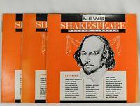 SHAKESPEARE Record Library LP Vinyl Set of 3: Hamlet King Henry V, Julius Caesar