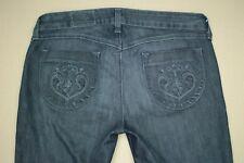 Siwy Hannah Contoured Slim Crop Jeans Women's Size 30 Dark Wash Denim