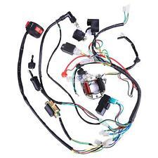 50cc 70cc 110cc 125cc ATV QUAD FULL ELECTRICS CDI COIL WIRING HARNESS RECTIFIER