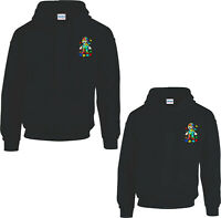 Super Mario Logo Autism Awareness Hoodie,Funny Video Game Puzzle Pieces Gift Top